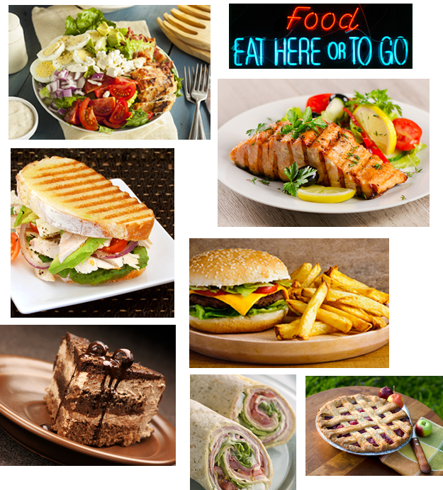 All of our wonderful menu items can be prepared for take-out